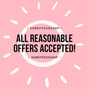 Reasonable Offers Welcomed!